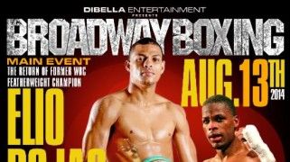 Complete Card Set for Wednesday's 'Broadway Boxing'