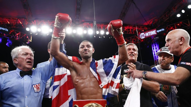 Brook Shocks Porter to Win IBF Welterweight Crown