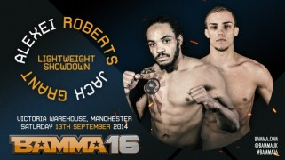 Three Prelims Set for BAMMA 16 Sept. 13 in Manchester