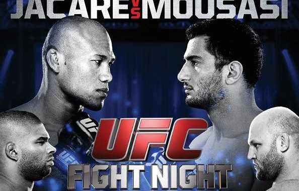 UFC Fight Night: Jacare vs. Mousasi 2 Preview & Predictions