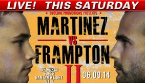 Frampton Beats Martinez Again to Win IBF Title