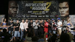 Mayweather vs. Maidana 2 Undercard Presser Quotes & Photos