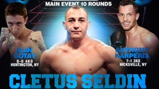 Cletus Seldin Headlines 'Rockin Fights 15' on Sept. 19