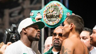 Mayweather vs. Maidana 2 Weigh-in Results & Photos