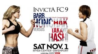 Full Card Set for Invicta FC 9: Honchak vs. Hashi on Nov. 1