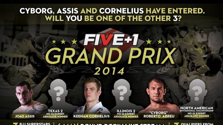 Five Grappling +1 Grand Prix 2014 Announcement