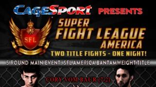 Super Fight League America 1 this Saturday in Washington