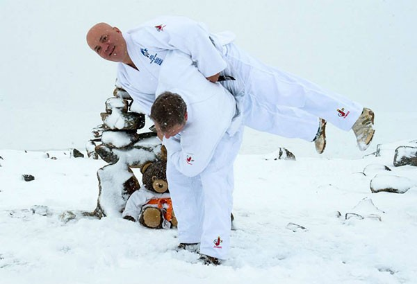 Judo in the Great North of Canada