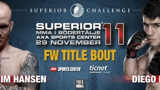 Hansen vs. Nunes Title Bout Tops Superior Challenge 11