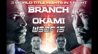 WSOF 15: Branch vs. Okami Weigh-in Results – Guillard Off
