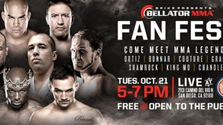 Bellator Fan Fest at San Diego's Dave & Busters October 21