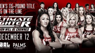Quick Shots – TUF 20 Finale: Esparza First Strawweight Champ
