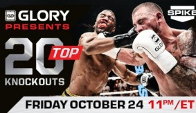 GLORY: Top 20 Knockouts Airs Friday on Spike TV
