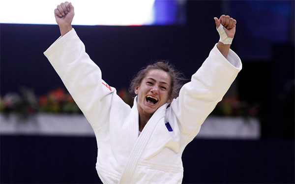 IJF Releases Statement on Unsanctioned Pre-Competition Doping Tests Issued For Gold Medalist Majlinda Kelmendi