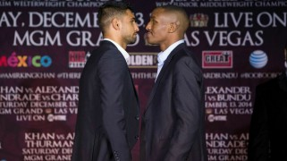 Khan vs. Alexander L.A. Press Conference Quotes & Photos