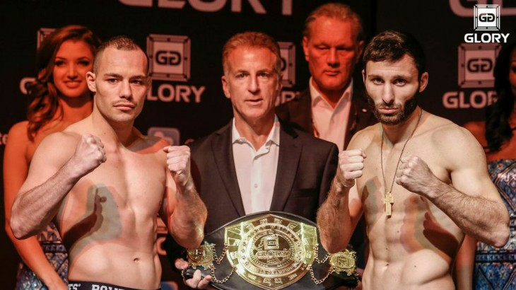 GLORY 18 LIVE on Fight Network Weigh-in Results & Photos