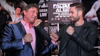 Film Rocky Meets Real-Life Rocky, Stallone Surprises Algieri