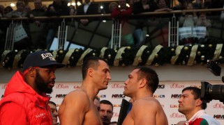 HBO Boxing: Klitschko vs. Pulev Weigh-in Results & Photos