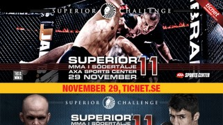 Seven Bouts Official for Superior Challenge 11 on Nov. 29