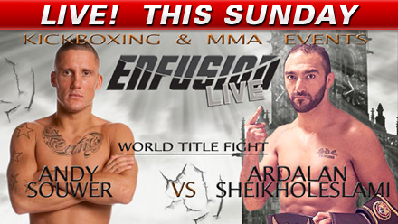 Enfusion 22 LIVE this Sunday @ 2:30p ET on Fight Network