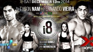 Vieira vs. Nam Headlines XFCi 8 on Dec. 13 in Brazil