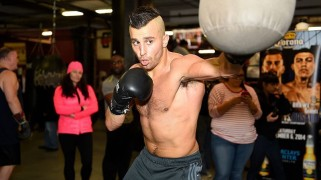 Lemieux vs. Rosado Media Workout Quotes & Photos