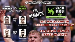 Grapple at the Garden Takes Place Dec. 21, Live on PPV