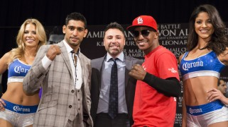 Khan vs. Alexander Final Press Conference Quotes & Photos