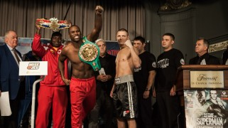 Stevenson vs. Sukhotskiy Weigh-in Results & Photos