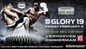 GLORY 19 Official for Feb. 6 in Hampton, Virginia