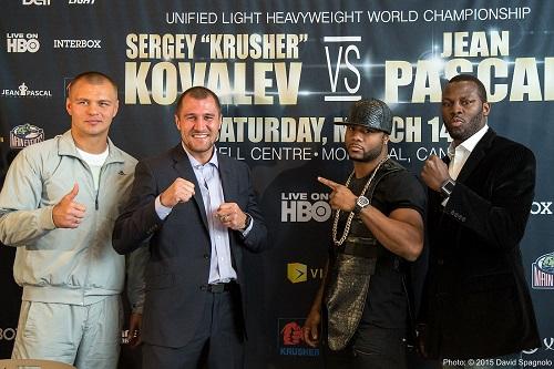 Sergey Kovalev vs. Jean Pascal 2 Set for WBO/WBA/IBF Light Heavyweight Title on Jan. 30 in Montreal