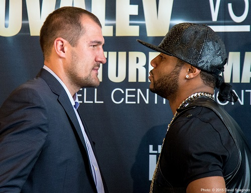 Tension Begins to Build Between Kovalev, Pascal