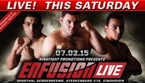 Enfusion 24 Eindhoven LIVE Sat @ 3p ET on Fight Network
