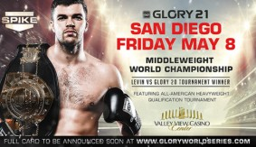 GLORY 21 Set for May 8 in San Diego; Artem Levin Headlines