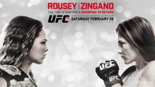 UFC 184: Rousey vs. Zingano Weigh-in Results