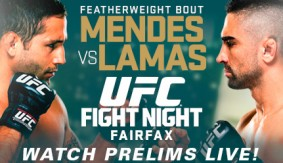 UFC Fight Night: Mendes vs. Lamas Preview & Predictions
