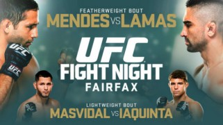 UFC Fight Night: Mendes vs. Lamas Weigh-in Results