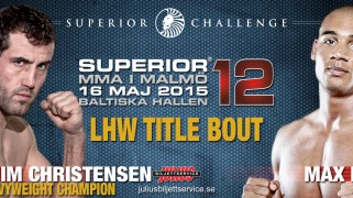 Full Card Set for Superior Challenge 12 on May 16 in Sweden