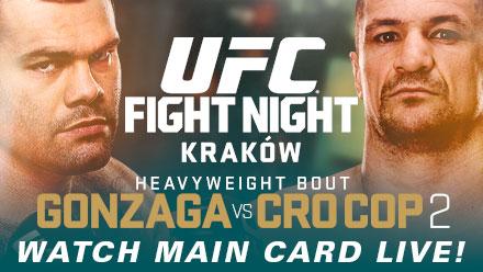 UFC Fight Night: Gonzaga vs. Cro Cop 2 Preview & Predictions