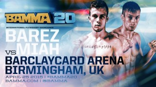 Full Final Fight Card Revealed for BAMMA 20 on April 25
