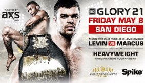 GLORY 21 San Diego Fight Card Finalized for May 8