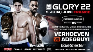 Verhoeven vs. Adegbuyi Tops GLORY 22 in Lille, France