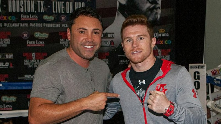 "Oscar De La Hoya Blog Part 2 – Canelo vs. Smith – ""Mexican Fighters Have Been Long Known for Their Toughness"""