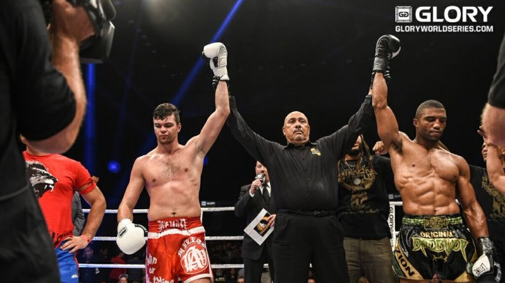 GLORY 21 San Diego Results & Photos – Levin vs. Marcus Draw