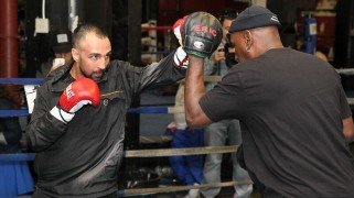 PBC on Spike: Khan vs. Algieri Media Workout Quotes & Photos