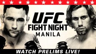 UFC Fight Night Manila Prelims, Pre & Post Coverage LIVE