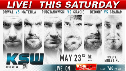 KSW 31, UFC 187 Coverage & Enfusion LIVE this Weekend on FN