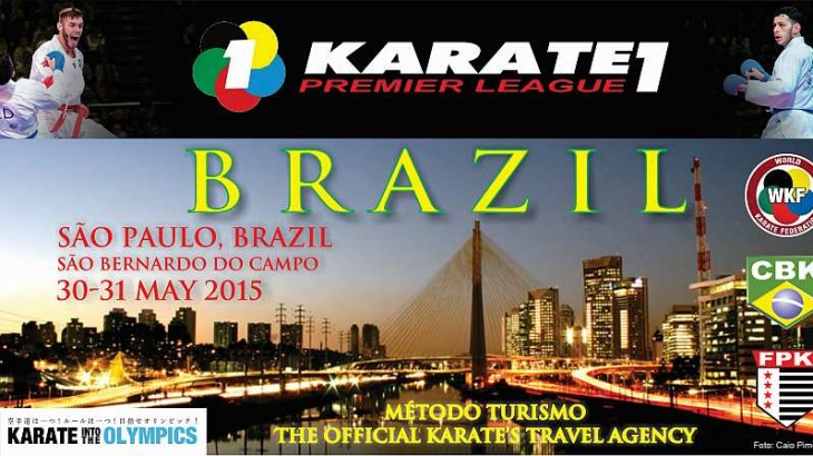 Karate1 Premier League Set for May 30-31 in Sao Paulo