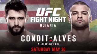 UFC Fight Night: Condit vs. Alves Weigh-in Results