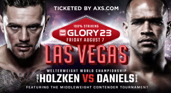 GLORY 23 Fight Card Finalized for Aug. 7 in Las Vegas